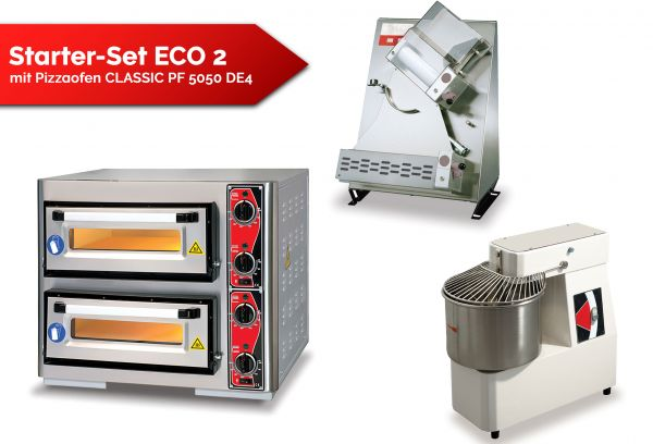 Starter-Set ECO 2 with Pizza Oven CLASSIC PF 5050 DE4