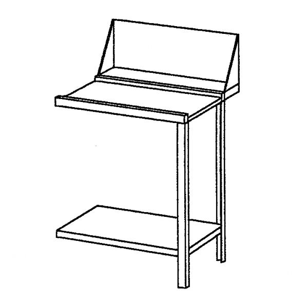 Zu- oder Ablauftisch rechts für Bartscher Durchschub-Spülmaschinen