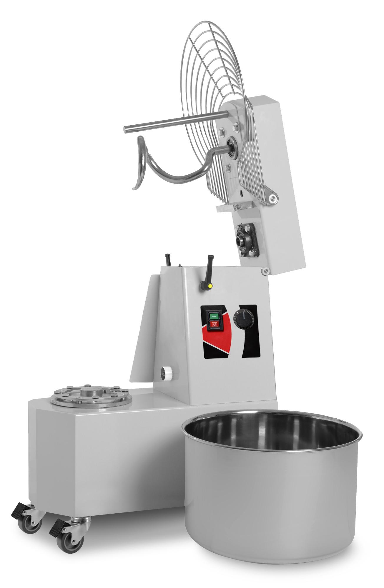 Teigknetmaschine 42 kg, 48 Liter, 400 Volt   GastroPlus24