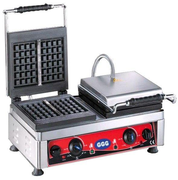 "Waffle Maker ""Bruxelles"", 2 Baking Plates, 230 V"