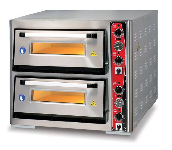 Pizza Oven CLASSIC PF 6292 DE, 2 Baking Chambers, Thermometer