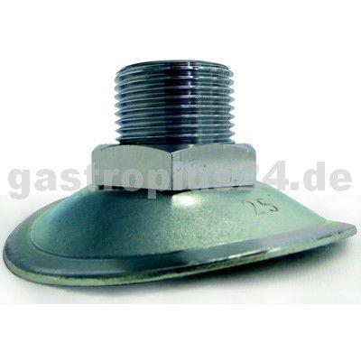 Ablaufstutzen für Rohr Ø 300/315 mm, 1/2 Zoll