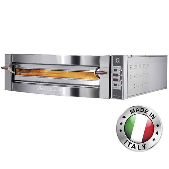 Electronic Pizza Oven for 4 pizzas 35cm, digital, CAB0055/CD