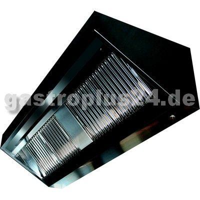 Wandhaube, 100x70x45 cm, Filter, Beleuchtung, VDI-Motor