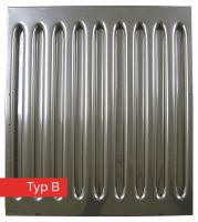 Flame proofing type B, 500 x 500 x 20 mm