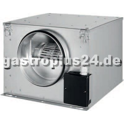Ventilatorbox isoliert für Rohr Ø 355mm