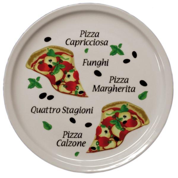 6 Pizza Plates, Ø 300 mm, Design 4