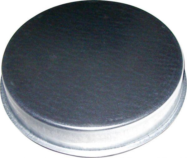 Enddeckel für 450 mm Formteil, verzinkt