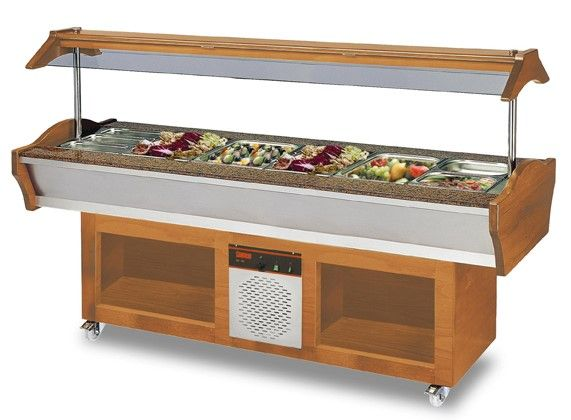 Refrigerated Catering Buffet, 2200x900x850mm