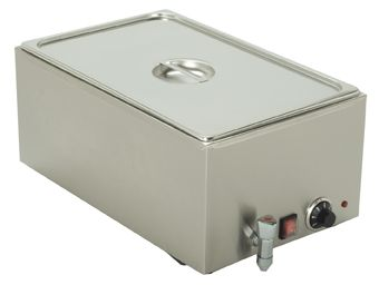 Bain-Marie, Drain Tap, incl. 1x GN 1/1 Container