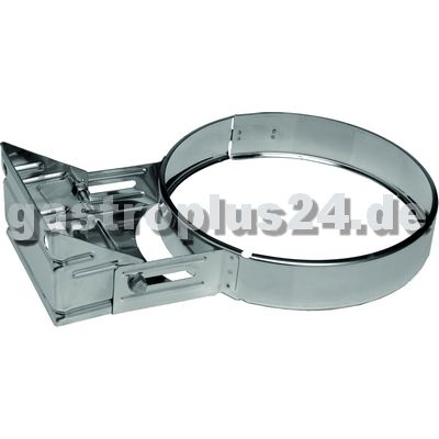 Wall Bracket 70-120mm for double-walled Pipe Ø 150mm