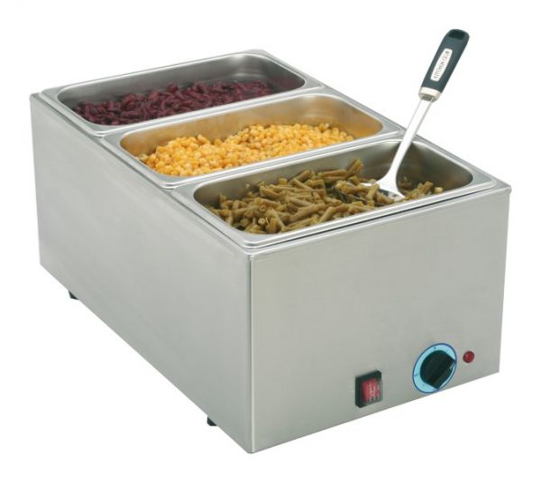 Bain-Marie GN 1/1, incl. GN Containers, 230 Volt