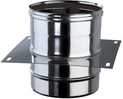 zwischenst tze f r einwandiges rohr 150 mm gastroplus24. Black Bedroom Furniture Sets. Home Design Ideas