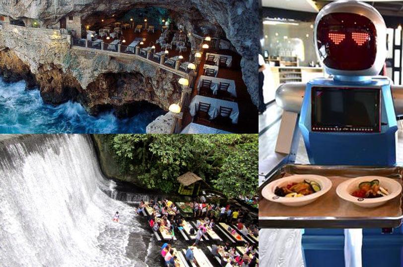 Außergewöhnliche Restaurants