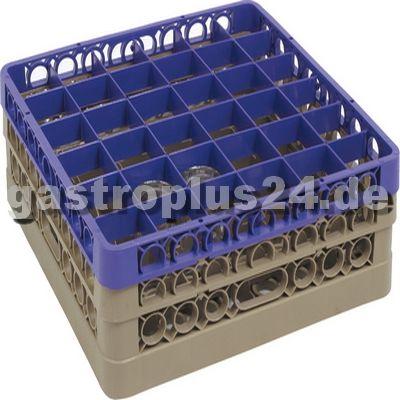 Gläserkorb, 36 Einheiten, Gläserhöhe: 162,0 mm