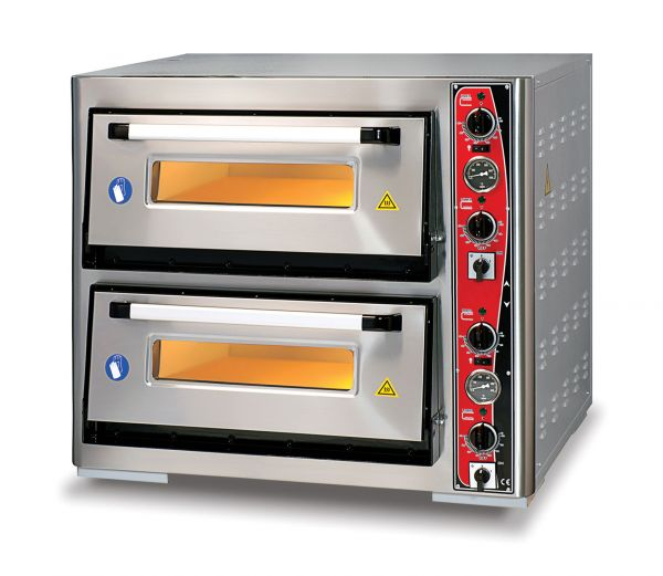 Pizza Oven CLASSIC PF 7070 DE, 2 Baking Chambers, Thermometer
