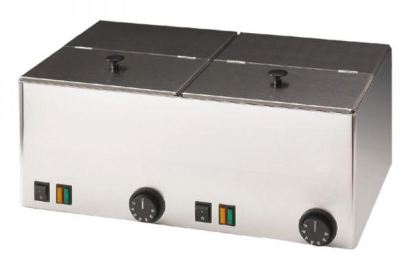 Wurstwärmer, 2x 9 Liter, 230 Volt