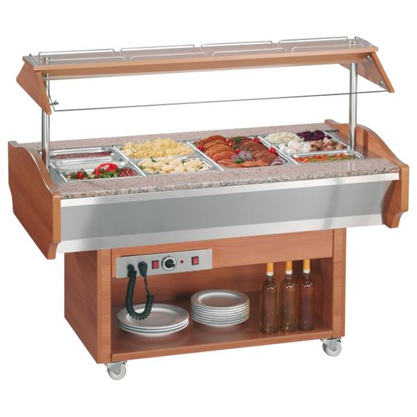 Hot Catering Display Bar, 1520 x 900 x 870 mm