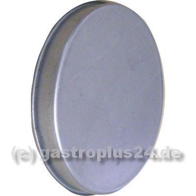Enddeckel für 400 mm Formteil, verzinkt