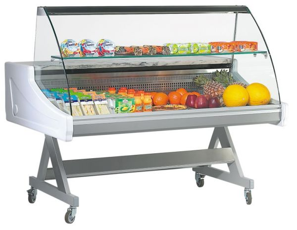 Refrigerated Display SADO 15 GC, Substructure with Castors