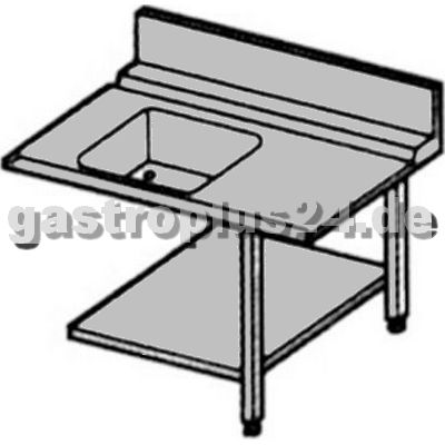 Entry and Exit Table right, 1200x700x865mm