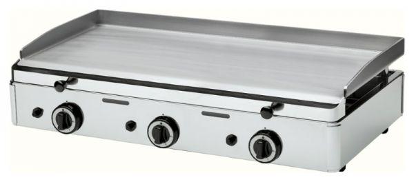 Griddleplatte, glatt, Gas, 8,25 kW