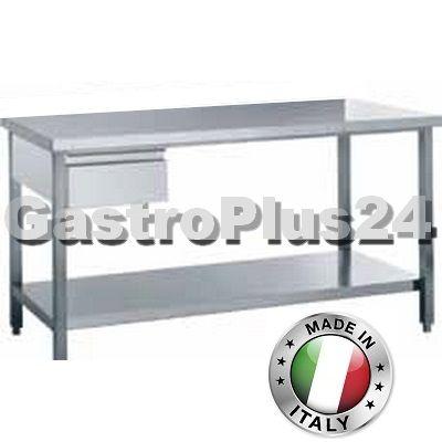 Arbeitstisch mit Schublade, 800 x 600 x 850 mm