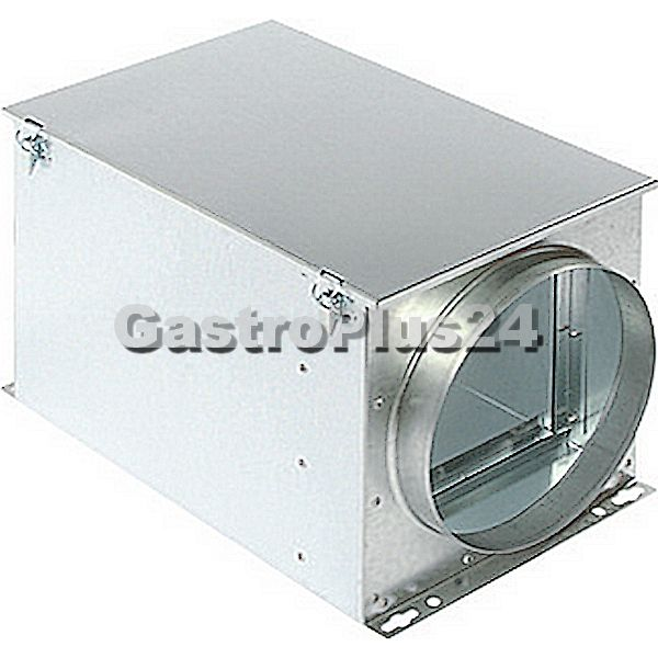 Filterbox für Taschenfilter für Rohr Ø 125 mm