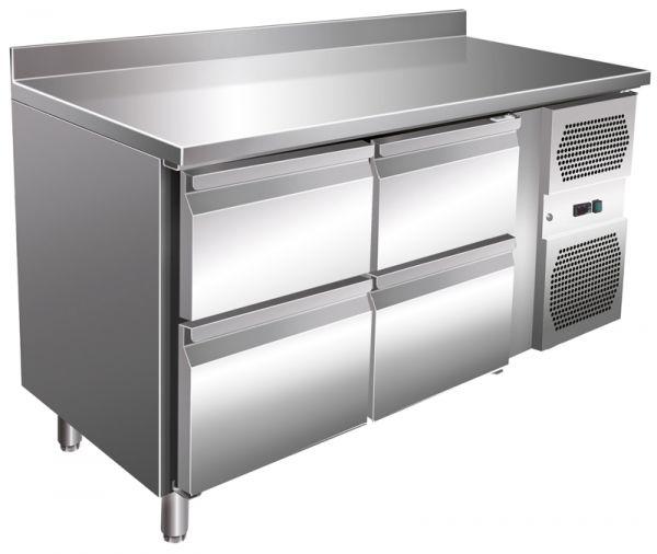 Kühltisch VIP-2C4, 314 Liter, 4 Schubladen, GN 1/1