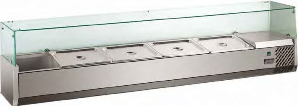 Refrigerated Display Case VRX 2000, 10x GN 1/4