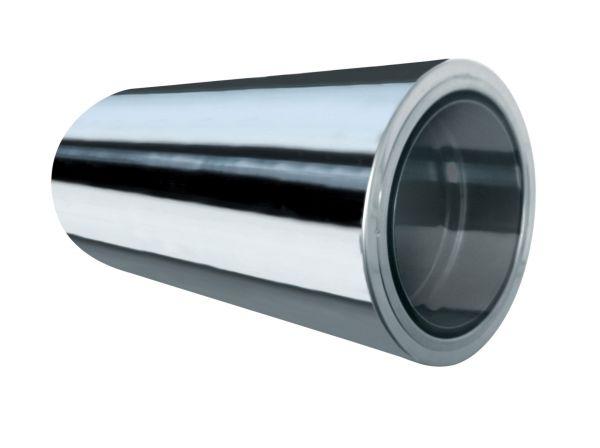 Wandfutter 500mm, kürzbar für doppelwandiges Rohr Ø 200mm