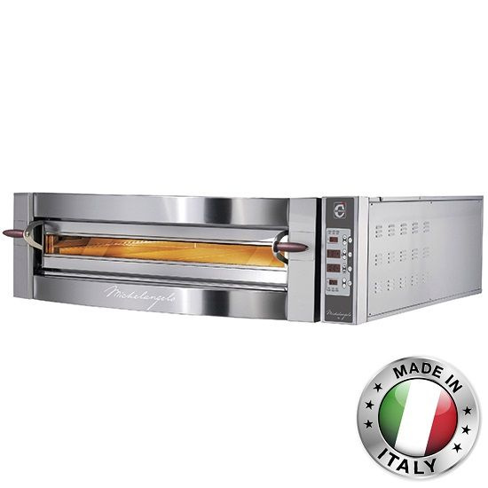 Electronic Pizza Oven for 6 pizzas 35cm, digital, CAB0057/DCG