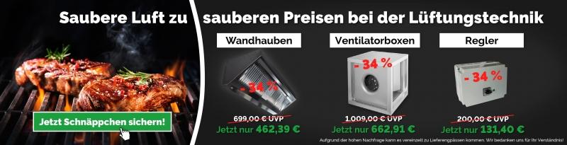 Saubere Luft zu sauberen Preisen!