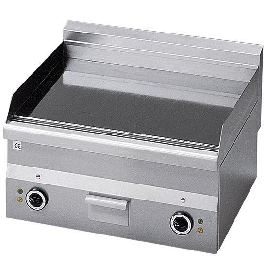 Elektro-Grillplatte, Tischplatte, glatt, 280x600x600 mm