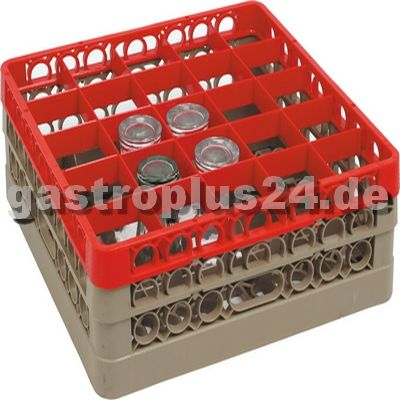 Glass Basket, 25 Shelves, Glass Height: 162.0 mm
