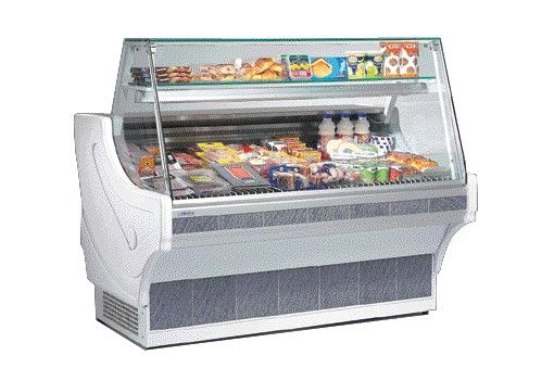 """Refrigerated Counter """"Geres 1000"""", cooled substructure"""
