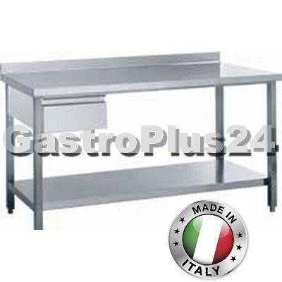 Arbeitstisch mit Aufk. und Schublade, 1100 x 600 x 850 mm