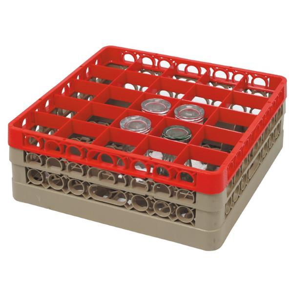 Glass Basket, 25 Shelves, Glass Height: 82.5 mm