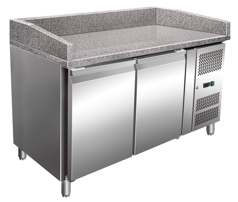 Refrigerated Pizza Table Pk 1510 2 Doors Gastroplus24