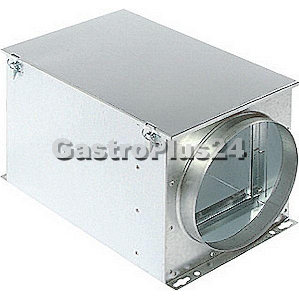 Filterbox für Taschenfilter für Rohr Ø 100 mm
